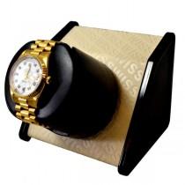 Orbita Wooden Single Watch Winder in Cream