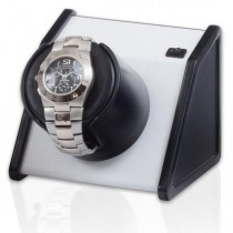 Orbita Rectangular Single Watch Winder in Vibrant White