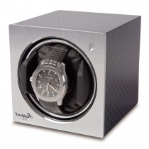 Rapport London Terta Single Cube Watch Winder Carbon Fiber