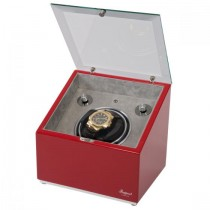 Rapport London Astro-Mono Single Watch Winder in Wood w/ Glass Top