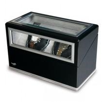 Rapport London Double Watch Winder, Aluminum & Ebony w/ Glass Panels