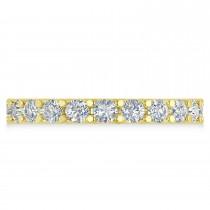 Diamond Eternity Wedding Band 14k Yellow Gold (2.10ct)