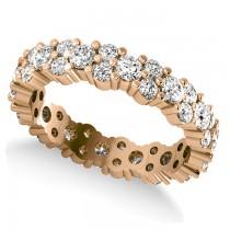 Garland Diamond Eternity Band Ring 14k Rose Gold (1.69ct)