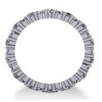 Garland Diamond Eternity Band Ring 14k White Gold (1.69ct)