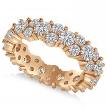 Garland Diamond Eternity Band Ring 14k Rose Gold (3.00ct)