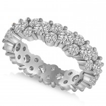 Garland Diamond Eternity Band Ring 14k White Gold (3.00ct)