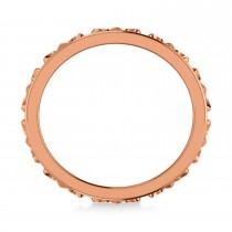 Fleur De Lis Unisex Ring/Wedding Band 14k Rose Gold