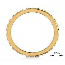 Fleur De Lis Unisex Ring/Wedding Band 14k Yellow Gold