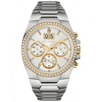Men's Wittnauer Watch 2-Tone Stainless Steel Chronograph w/ Crystals