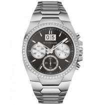 Men's Wittnauer Quartz Watch Crystal Chronograph Stainless Steel