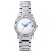 Women's Wittnauer Quartz Watch with Mother of Pearl Dial and Crystals