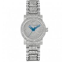 Women's Wittnauer Quartz Watch with Stainless Steel Bracelet Crystals