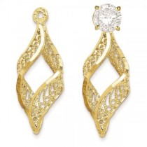 Filigree Swirl Earring Jackets